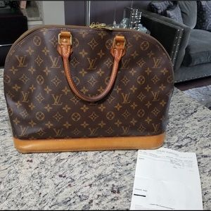 Louis Vuitton Alma MM - Canvas